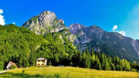 slovenia, mountains, lodges