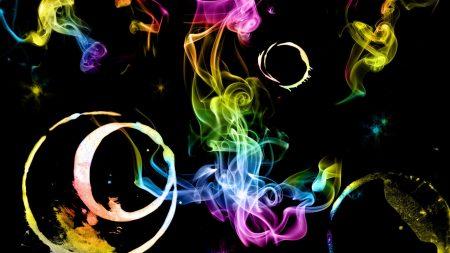 smoke-colored, ring, light