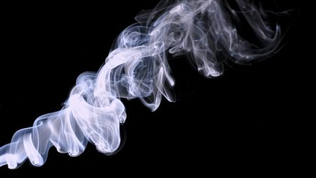 smoke, background, black