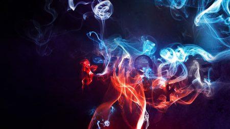 smoke, color, background