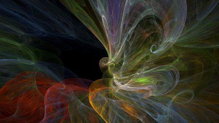 smoke, multicolored, glow
