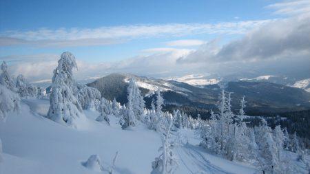 snow, carpathian mountains, the mountain stig