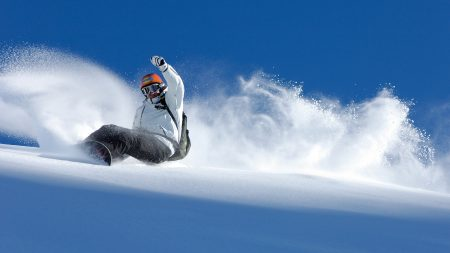 snowboard, descent, extreme