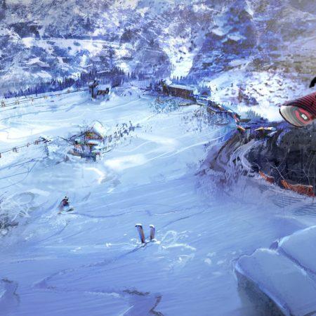 snowboard, jump, extreme