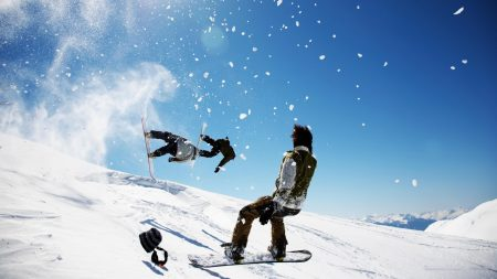 snowboard, tricks, guys