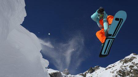 snowboarding, mountain, snow