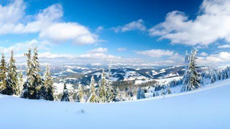 snowdrift, snow, height
