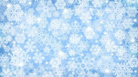 snowflake, background, light