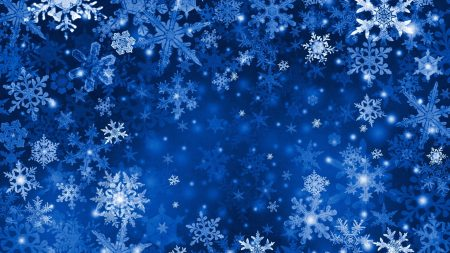 snowflakes, background, bright