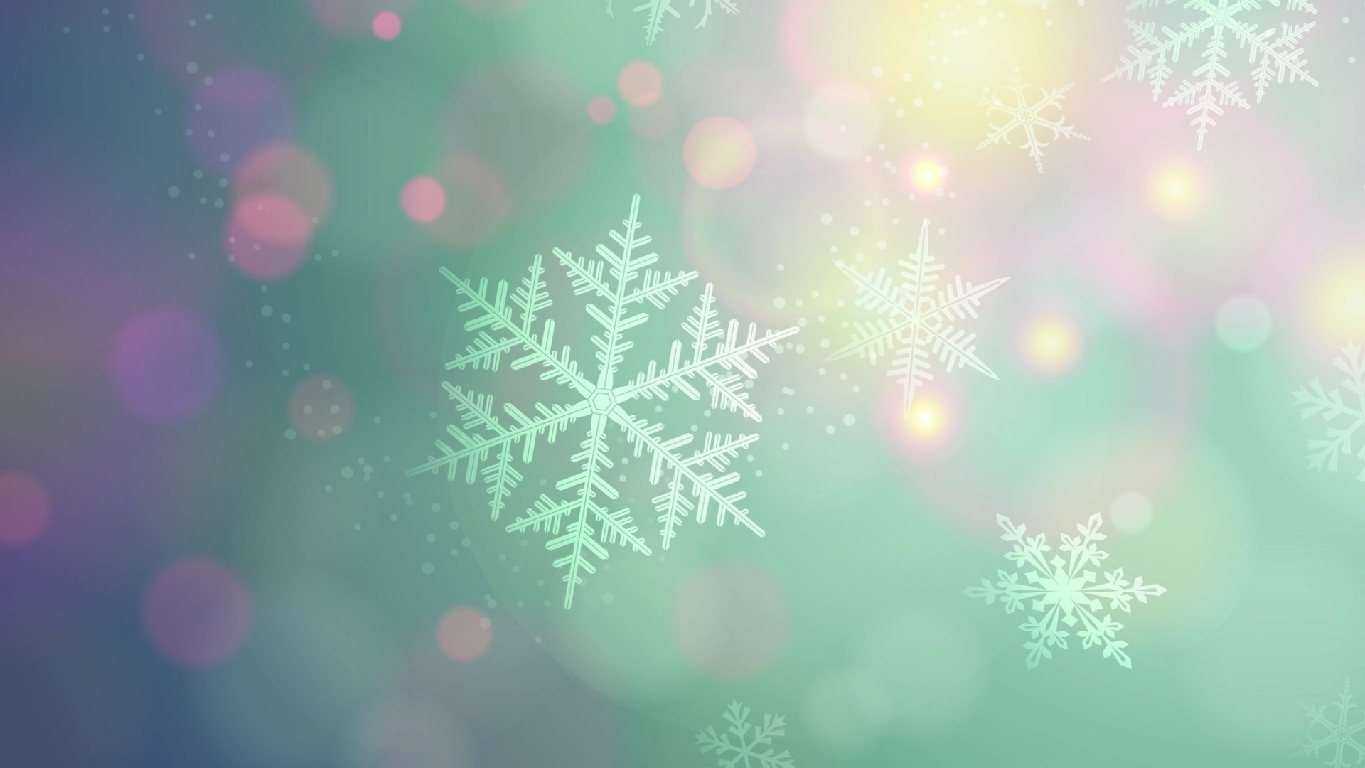 snowflakes, background, light