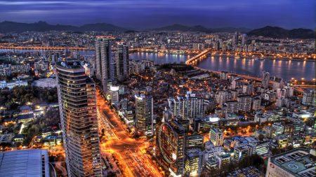 south korea, seoul, capital city