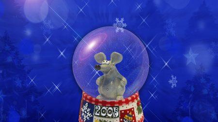souvenir, mouse, ball
