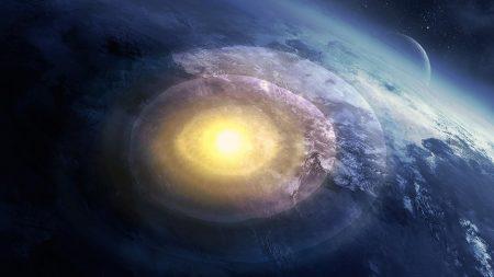 space, explosion, nebula