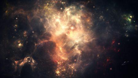 space, stars, sky