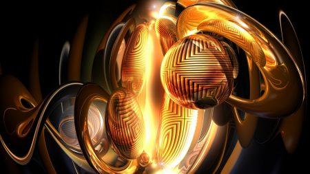 sphere, ball, dark