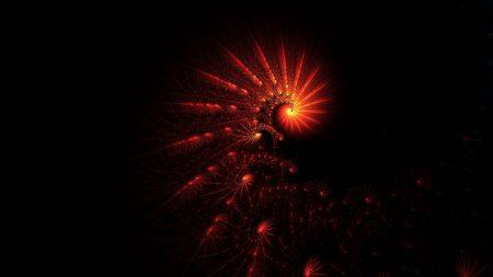 spiral, light, dark