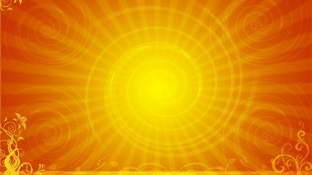 spiral, sun, line