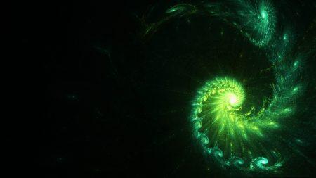 spiral, winding, dark