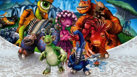 spore, characters, animals