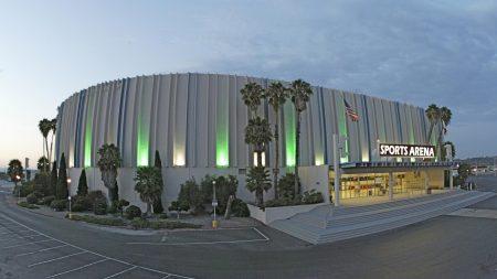sports arena, san diego, california