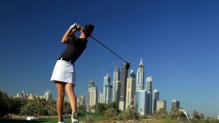 sportswoman, girl, golf