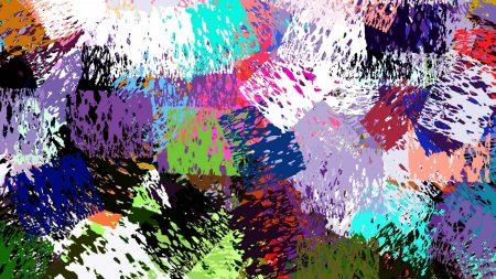 spots, colorful, blot