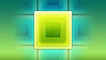 square, green, yellow