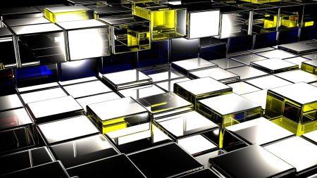 squares, surface, metal