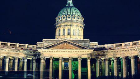st petersburg, kazan cathedral, nevsky prospect