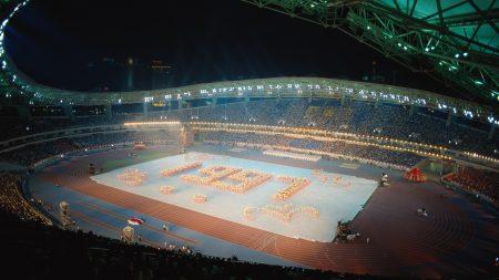 stadium, arena, tribune