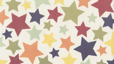star, colorful, surface