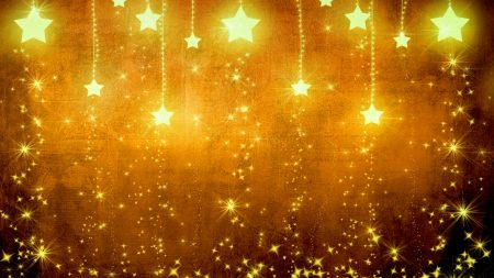 star, gold, holiday