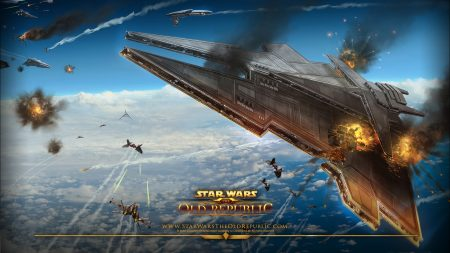 star wars the old republic, airships, battle