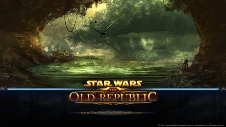 star wars the old republic, birds, trees