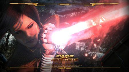 star wars the old republic, girl, magic