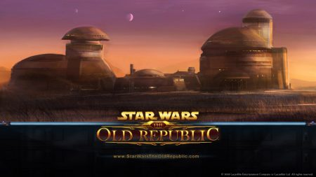 star wars the old republic, houses, sky