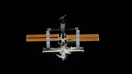 station, space, solar panels