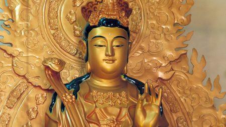 statue, gold, china