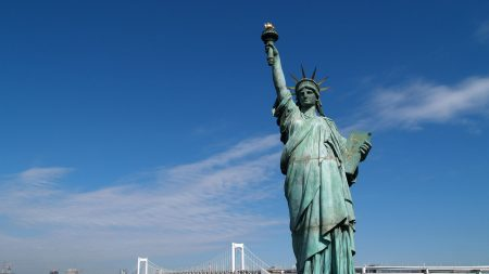 statue of liberty, united states, new york