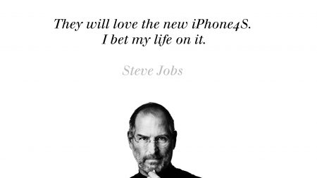 steve jobs, iphone, bw