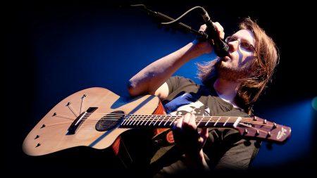 steven wilson, guitar, show