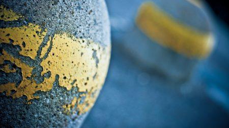 stone, ball, band
