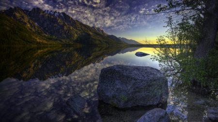 stone, gray, mountains