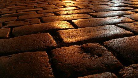 stone, path, surface