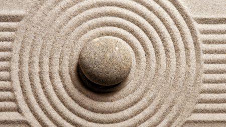 stone, sand, harmony