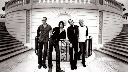 stone temple pilots, band, glasses