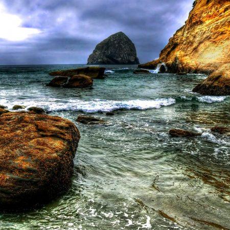 stone, water, sea