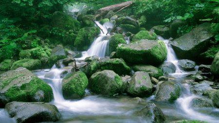 stones, stream, boulders