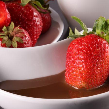 strawberry, berry, sauce