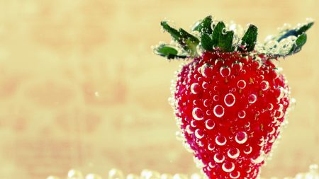 strawberry, berry, sweet
